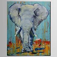 延伸フレームとiarts®hand塗装の油絵の動物象