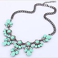 Pentru femei Cristal Coliere Ștras Modă Albastru Deschis Curcubeu Verde Deschis Coliere Bijuterii 1 buc Pentru Nuntă Petrecere Zilnic Casual