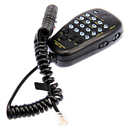 billige Walkie-talkies-YAESU MH-48A6J håndholdt mikrofon med digitale knapper for FT-7800R / FT-8800R / FT-8900R - Svart