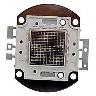 billige Lampesokler og kontakter-ZDM ™ 50w rgb lys integrert LED-modul (red: 16-18v grønn: 25-27v, blå: 25-27v)