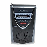 halpa -OJADE OE-1201 mini kannettava AM / FM 2-Band Radio