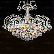 cheap Chandeliers-Modern/Contemporary Crystal Chandelier Downlight For Living Room Bedroom Dining Room 110-120V 220-240V Bulb Included