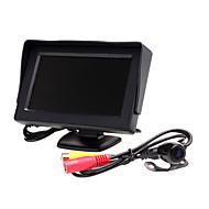 billiga Parkeringskamera för bil-4.3 inch TFT-LCD Car Reversing Monitor för Universell Två färger