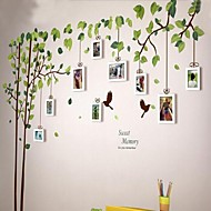 White Photo Frame Set of 9 s Wall Sticker