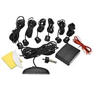 billiga Parkeringskamera för bil-DYW-L061 0,6 tums LED Digital Display Parking Sensor med sex Sonder - Svart