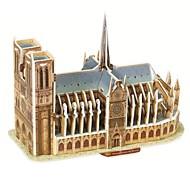 3D퍼즐 나무 퍼즐 종이 모형 유명한 빌딩 종이 남아 여아 장난감 선물