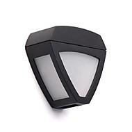 2主導の屋外LEDソーラーフェンス光壁光の風景ピンナップパス庭ランプ