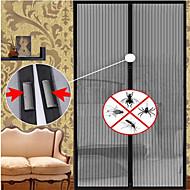 1 stk 210 * 100cm / 190 * 100cm sommer nyttig mesh hånd skjerm dør gardin