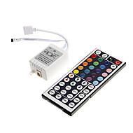 billige Lampesokler og kontakter-zdm 1pc 6a 72w ir 44-talls rgb led fjernkontroll for rgb ledet lys stripe (dc12v)