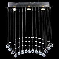 billige Udsalg-QINGMING® Krystall Takplafond Nedlys - Krystall, 110-120V / 220-240V Pære Inkludert / GU10 / 15-20㎡