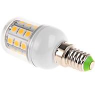 billige Kornpærer med LED-1pc 4 W 210lm E14 / G9 / E26 / E27 LED-kornpærer 27 LED perler SMD 5050 Varm hvit / Kjølig hvit / Naturlig hvit 220-240 V