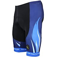 cheap -ILPALADINO Men's Cycling Padded Shorts Bike Shorts / Padded Shorts / Chamois / Bottoms 3D Pad, Quick Dry, Ultraviolet Resistant Stripe