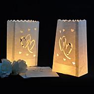 Χαμηλού Κόστους Λουλούδια από Χαρτοπετσέτες-Γαμήλιο Πάρτι Μεικτό Υλικό Διακόσμηση Γάμου Θέμα Κήπος / Κλασσικό Θέμα Όλες οι εποχές