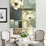 billige Rullegardiner-olje maleri stil fremdeles liv floral roller skygge