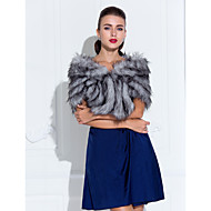 Faux Fur / Lace Wedding / Party Evening Fur Wraps With Shrugs