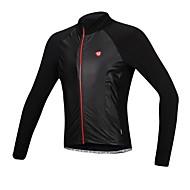 SANTIC Jaqueta para Ciclismo Moto Jaqueta Camisa/Roupas Para Esporte Blusas Homens Prova-de-Água Térmico/Quente A Prova de Vento Forro de