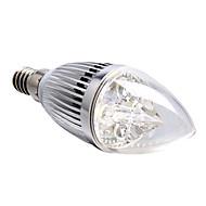 4W E14 LED 캔들 조명 4 고성능 LED 360 lm 내추럴 화이트 밝기 조절 AC 220-240 V