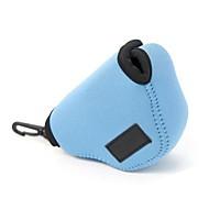 bolsa de saco de neoprene dengpin® macio à prova de choque de proteção câmera caso para Sony a5100 A5000 NEX-5t NEX-5R nex3n 16-50mm