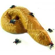 Dia das bruxas brinquedos complicado moscas 3 peças do enganado olhar realista (cor aleatória)