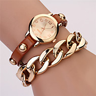 cheap Watches-Women's Quartz Fashion Watch Casual Watch Chinese Large Dial Tile Other Band Vintage