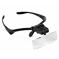 cheap Magnifying Glasses-Magnifiers/Magnifier Glasses Headset/Eyewear 3 Plastic