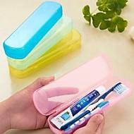 Protetor/Porta Escova de Dentes Durável Portátil para Acessórios de ToaleteAmarelo Verde Azul Rosa claro