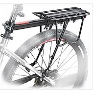 Bike Cargo Rack Maks Belastning 25 kg Justérbar Aluminiumlegering Mountain Bike / Vejcykel - Sort