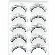 Eyelashes lash Eyelash Thick Natural Long Volumized Natural Thick Fiber