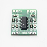 cheap -Mini Digital Audio Amplifier Board - Green