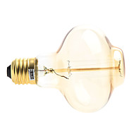 halpa LED-lamput-200-260 lm E26/E27 LED-hehkulamput 1 ledit Lämmin valkoinen AC 220-240V