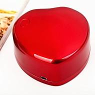 billige -3W LED rask neglelakk tørketrommel mini nail art uv gel tørketrommel spiker filer for salon negler og DIY manikyr