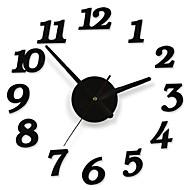 billige Veggklokker-DIY lim klistremerke moderne vegg sifret antall rom interiør klokke