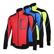 Arsuxeo Jachetă Cycling Bărbați Bicicletă Jachetă Jachete de Lână Topuri Keep Warm Rezistent la Vânt Design Anatomic Căptușeală Din Lână