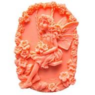 tanie Formy do ciast-Flower Fairy ciasto w kształcie narzędzi kremówki Ciasto czekoladowe silikonowa forma dekoracji, l9.5cm * w6.5cm * h3cm