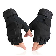Sports Gloves Bike Gloves / Cycling Gloves Ultraviolet Resistant Breathable Wearproof Protective Anti-skidding Tactical Fingerless Gloves