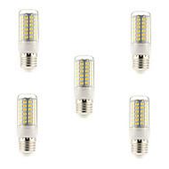 5個 5 W 450 lm E14 G9 E26 / E27 LEDコーン型電球 T 69 LEDビーズ SMD 5730 温白色 クールホワイト 220-240 V