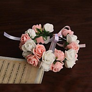 """cheap Wedding Flowers-Wedding Flowers Wrist Corsages Wedding Party / Evening Satin Paper 9.45""""(Approx.24cm)"""