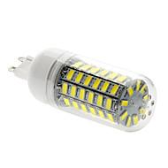billige Kornpærer med LED-5W 450 lm G9 LED-kornpærer T 69 leds SMD 5730 Naturlig hvit AC 220-240V