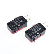 micro switch off-on voor elektronica DIY (2 stuks)