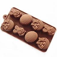 kage skimmel sæbe skimmel kanin æg skimmel silikone form til slik chokolade