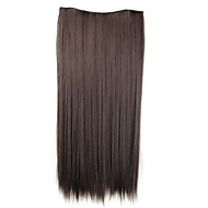 Human Hair Extensions Classic Hair Extension Clip In / On Brown Daily