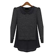 Žene Vintage Pullover Color block