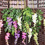 billige Kunstig Blomst-Kunstige blomster 3 Afdeling pastorale stil Orkideer Bordblomst