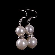 drop øreringe kvinders perle øreringe rhinestone klassisk feminin stil