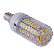 billige Kornpærer med LED-E14 LED-kornpærer T 60 leds SMD 5730 Varm hvit Kjølig hvit 1500lm 2800-3200/6000-6500K AC 85-265V