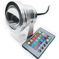 זול נורות לד LED-10w 200-250lm rgb צבע מלא ip68 waterproof להבין הוביל המנורה הזרקור בריכה אור (12v)
