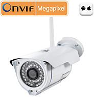 billige Utendørs IP Nettverkskameraer-Sricam 1 mp IP-kamera Utendørs Brukerstøtte 128 GB / CMOS / 50 / 60 / Dynamisk IP-adresse / Statisk IP Adresse