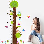 cheap Wall Stickers-Animals Wall Stickers Plane Wall Stickers Height Stickers, Vinyl Home Decoration Wall Decal Wall