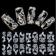 Cvijet - 3D Nail Naljepnice - za Prst - 15X7.5X0.2 - 1