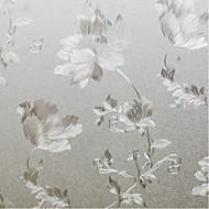 Bloemenmotief Landelijk Raamfolie,PVC/Vinyl Materiaal raamdecoratie